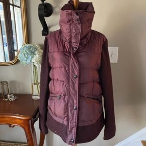 Sam Edelman Funnel Neck Quilted Puffer Coat XL